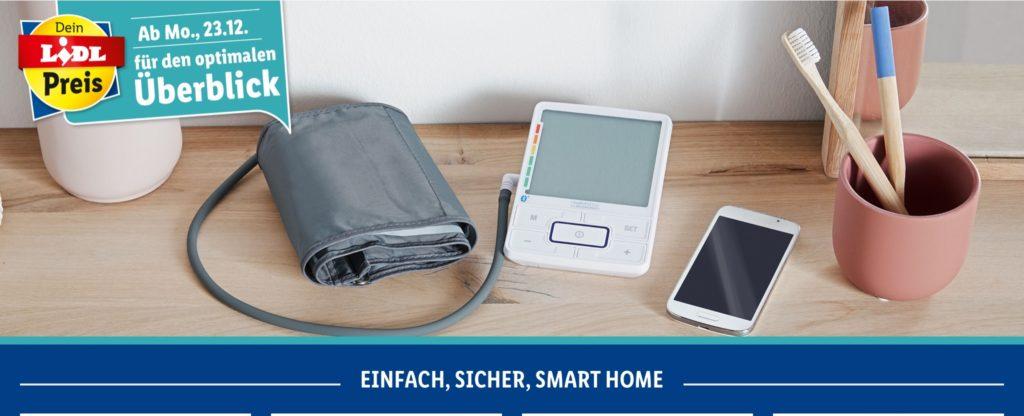 Smartes Blutdruckmessgerät bei Lidl im Angebot