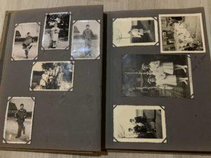 altes Fotoalbum zum Digitalisieren