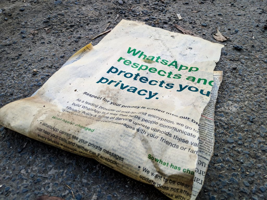 WhatsApp Privacy Protection Foto